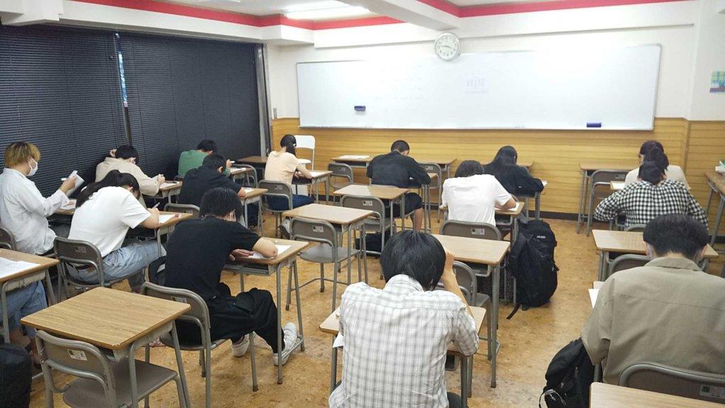 第2回塾内テスト